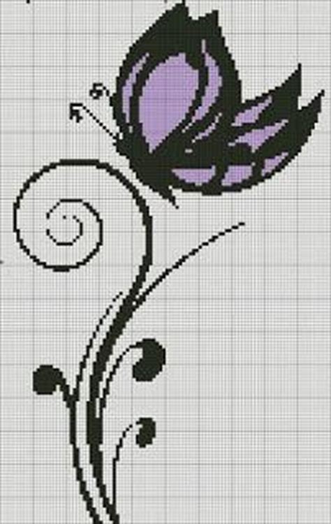 schemi punto croce farfalle e fiori schemi a puntocroce donne fiori e farfalle paperblog
