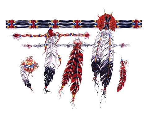 native american armband tattoo indian feather armband cool tattoos bonbaden