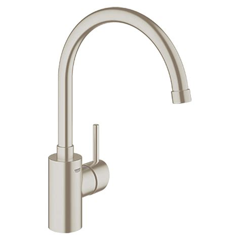 Kitchen Faucet Pull Down Grohe Concetto Sp 252 Ltischarmatur Edelstahl Hoher Auslauf