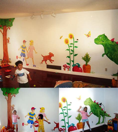 Daycare Wall Decor by Earthbound Daycare Wall By Eyes5 On Deviantart