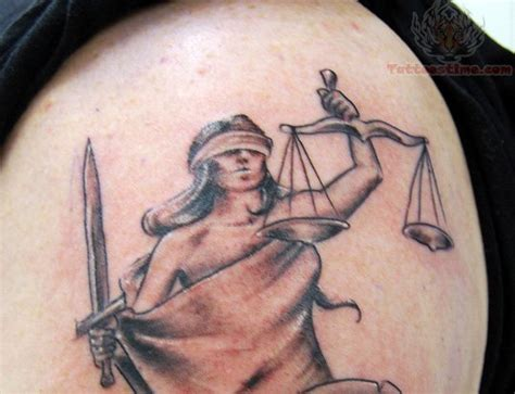 scales of justice tattoo 6 terrible lawyer tattoos