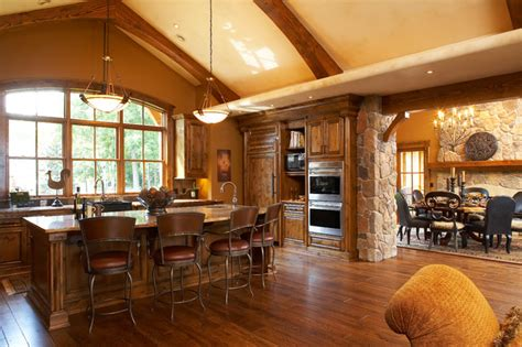 great room traditional kitchen minneapolis