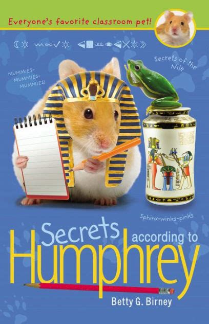 Betty The Book secrets according to humphrey humphrey series 10 by