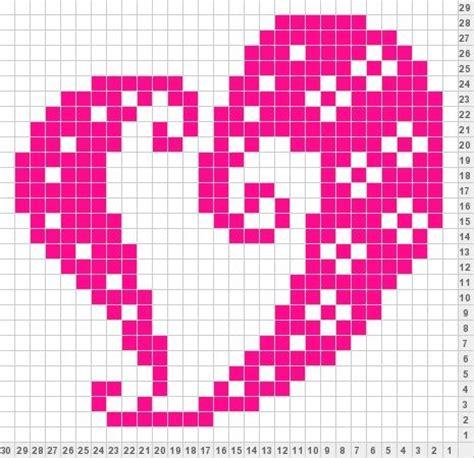 hearts and sharts pin by sabrina thomson on knitting charts