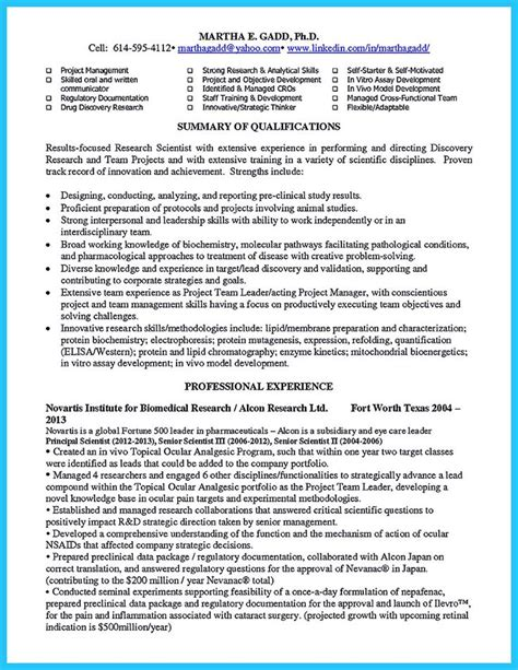 types of resume writing there are two types of biotech resume one is the academic