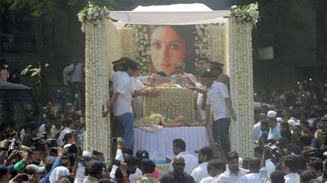 sridevi funeral sridevi funeral arjun kapoor proves to be pillar of