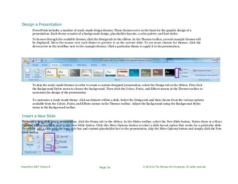powerpoint complete tutorial ppt 2007 tutorial complete