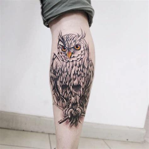 evil owl tattoo evil owl