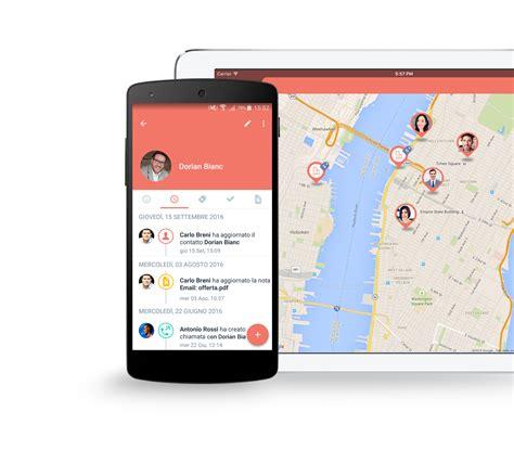 mobile italiano crm italiano piattaforma mobile per il processo vendita