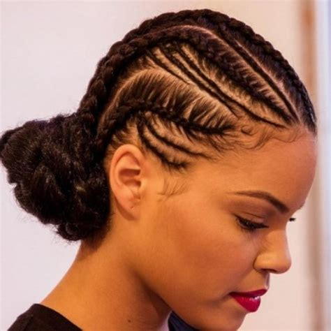 cornrows braided hairstyles for black outstanding