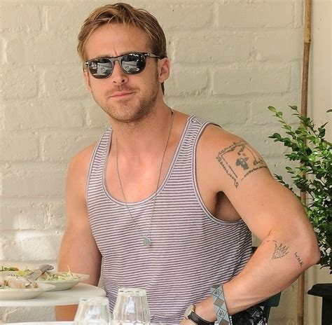 ryan gosling s eclectic tattoos celebrity tattoo designs