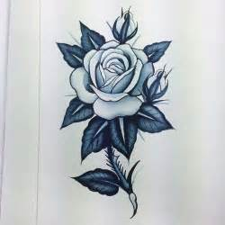 thorn stem rose tattoo design best tattoo designs