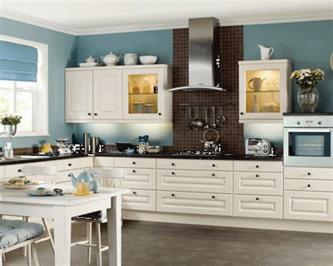 Kitchen Colors With White Cabinets Home Furniture Design Kitchen Cabinets In White