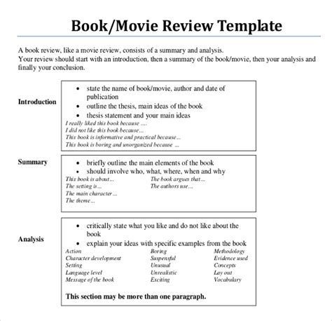 layout writing book 12 book writing templates free sle exle format