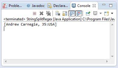 java pattern split exle java string split string regex int limit method exle