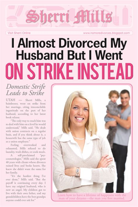 housework divorce and going on strike abby the record