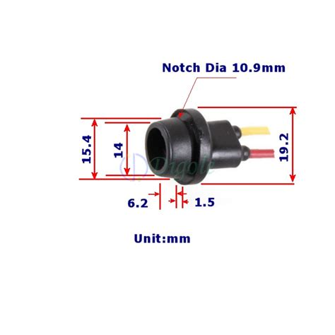 T10 Sockel by Sockets T10 Prewired Socket For Car Motorcycle