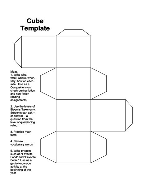 cube box template pictures to pin on pinterest pinsdaddy
