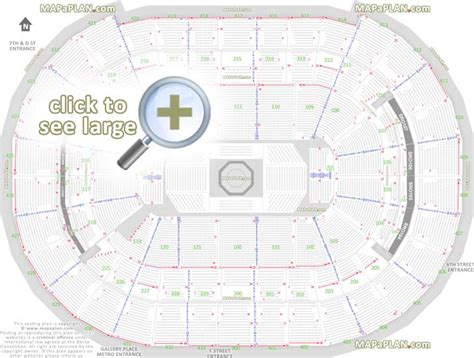 verizon center floor plan washington dc verizon center seat numbers detailed seating