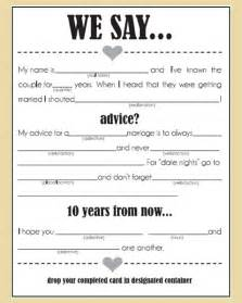 marriage advice cards templates the styled wedding your daily dose of