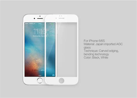 Nillkin Amazing 3d Cp Max Tempered Glass Iphone 7 Plus nillkin amazing 3d cp max tempered glass screen protector for apple iphone 6 6s