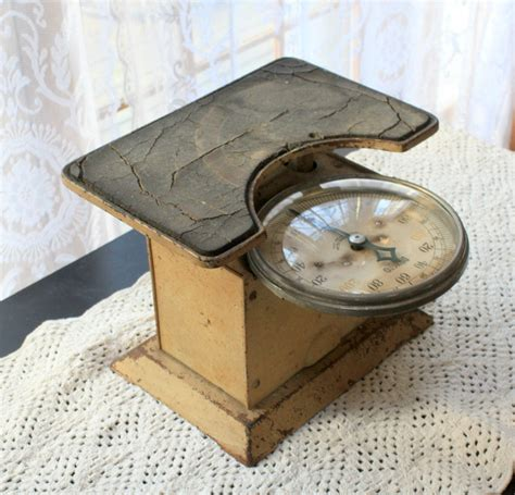 antique detecto bathroom scale by myvintagelane on etsy
