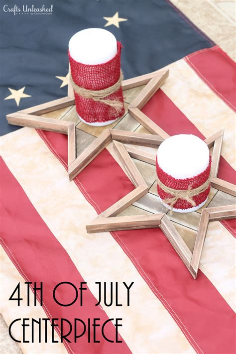 fourth of july diy diy 4th of july decorations centerpieces crafts unleashed