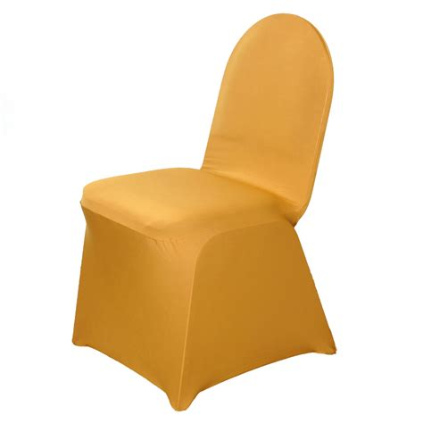 gold wedding chair covers 200 pcs spandex stretchable chair covers wholesale wedding