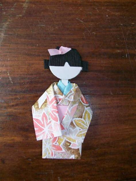 Origami Geisha - origami geisha doll by stingooddeeds at