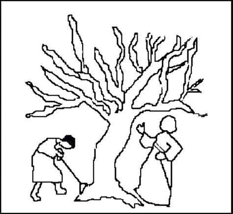 coloring page of a fig tree the parable of budding fig tree a par 225 bola da figueira