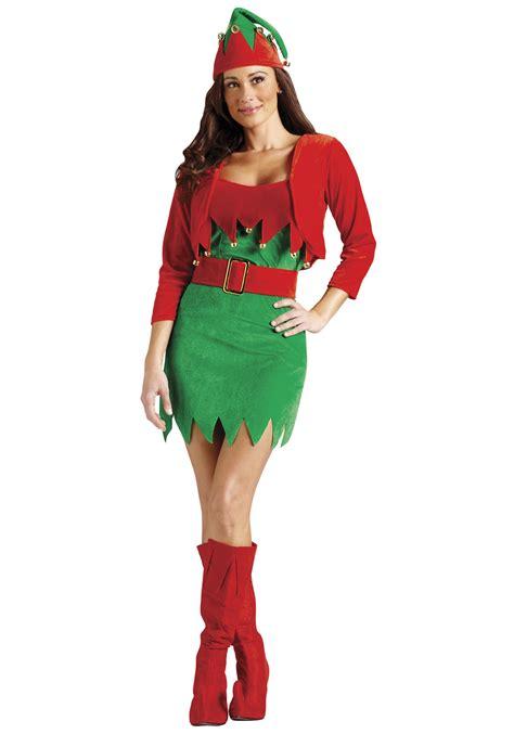sexy christmas elfalicious costume womens sexy christmas