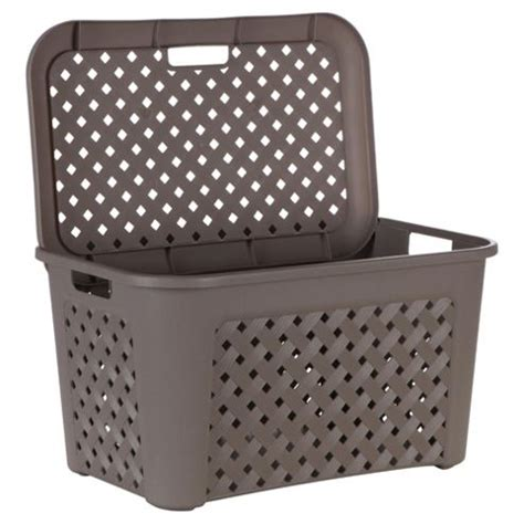 Buy Arianna Large Laundry Basket With Lid Mole From Our Large Laundry With Lid