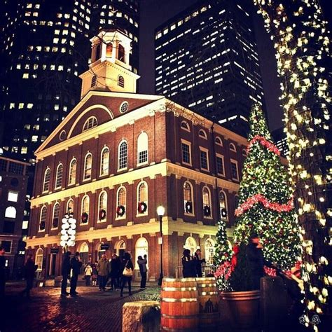 when was the first faneuil hall christmas tree in boston