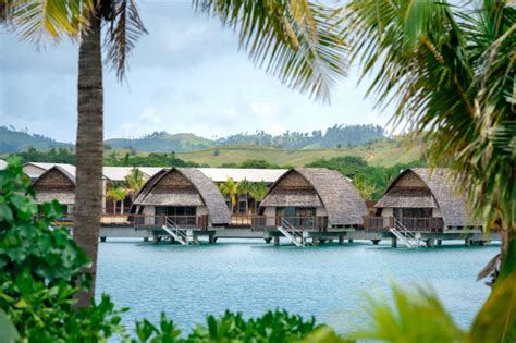 fiji bungalows check out fiji s newest overwater bungalow hotel