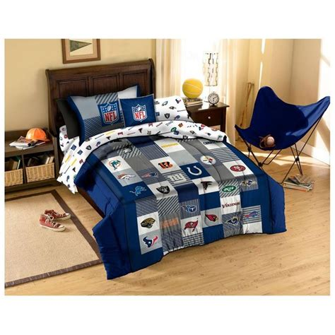 nfl bedroom decor nfl team logo comforter nfl cotton comforter set
