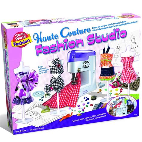Fashion Design Kits For 12 Year Olds | kids sewing machine fashion studio educational toys planet