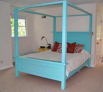 Diy Canopy Bed Frame 26 Best Images About Diy Furniture On Pinterest Diy Headboards Furniture Ideas And Ottomans