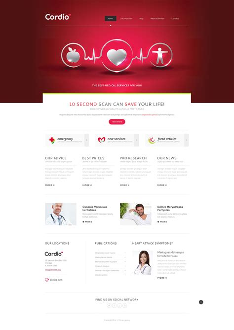 joomla health template services joomla template 47947