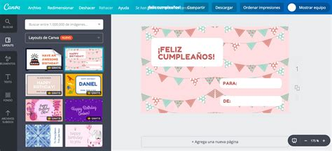 canva gratis crea etiquetas de cumplea 241 os personalizadas gratis canva