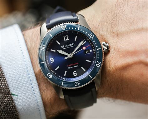 bremont supermarine s300 s301 dive watches on