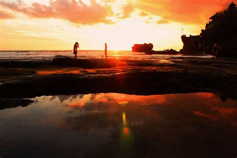 stock photo  person sunrise sunset