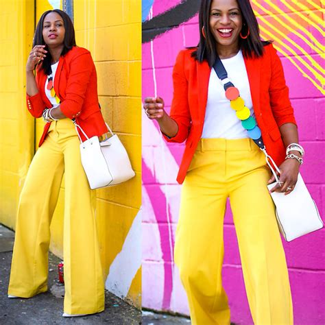 color blocking color blocking lookbook