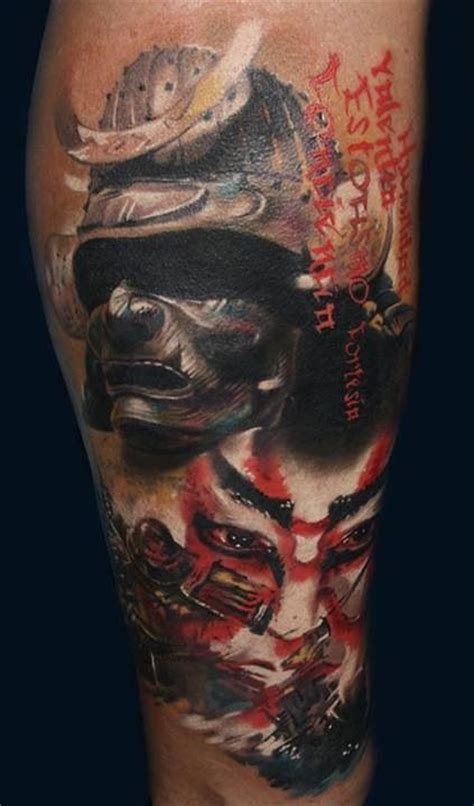 tattoo samurai warrior badass tattoos pinterest