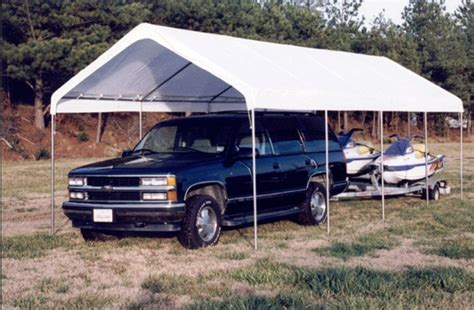 Portable Garage Shelter by King Canopy 10 X 27 Universal Portable Garage Canopy Shelter