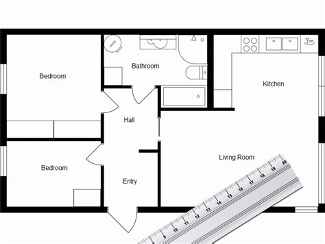 Create A Floor Plan Free by Create Your Own Floor Plan Fresh Garage Draw Own House