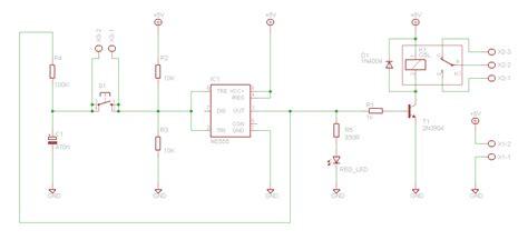 Saklar On On elektro ponsel hp jadul sebagai saklar jarak jauh