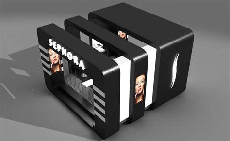 Sqm by Sephora Pop Up Store Triline Studio Architecture 3d