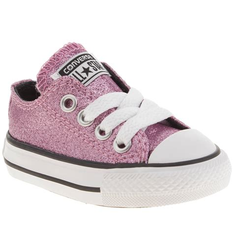 Kaos Converse 1 Years Product converse all glitter ox toddler pink made