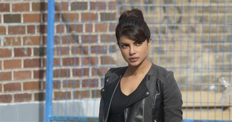 theme song quantico quot quantico quot star priyanka chopra appearing on abc s quot the chew quot