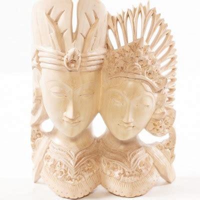 Frame Ukiran Rama Shinta Gold 36010 bsns 001 suar wood buddha statue the bali shop